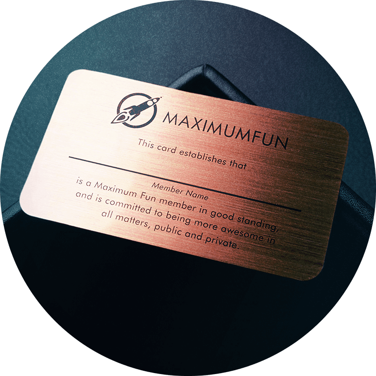 Custom Metal MaxFun Membership Card